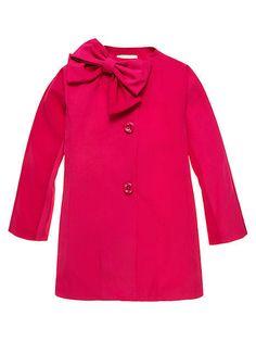 Kate Spade Girls Dorothy Jacket Coat Pink with Bow Size 10 NWT #KateSpade #RainGear