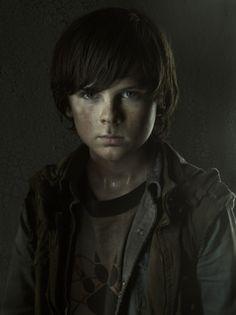 Met him in October, nice kid... The Walking Dead: Carl