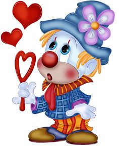 Cartoon -  Clown
