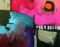 Abstract Painting - Linda Monfort
