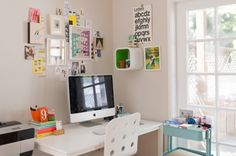 Lisa Congdon's IKEA-filled workspace | Refinery 29