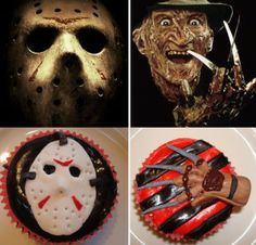 """Let's get """"scary"""" and """"spooky"""" fun on your Halloween Party. Halloween Desserts, Halloween Cupcakes, Scary Halloween, Halloween Treats, Halloween Party, Halloween Foods, Halloween Stuff, Cupcake Photos, Cupcake Art"""