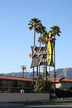 """Burbank CA: """"  Safari Inn, a favorite of studio location shooting has one of the coolest signs anywhere. This is where George Sibley's (James Cromwell) troubled son was living on Six Feet Under. Location scouts also love the big balcony for party scenes. I probably can't recommend staying there considering the high number of CSI murders that take place at this motel."""""""