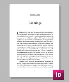 Crimson lends a classic elegance to your book, something that every reader will love. With its efficient page layout it can turn even a long manuscript into an intimate reading experience that will showcase your work in all the best ways.  	  Crimson - Template for InDesign Layout: For Print and eBook Fonts: Crimson, Fanwood, Theano Didot Suggested Uses: Popular, Historical, Thriller, Memoir Price: Starting at $77