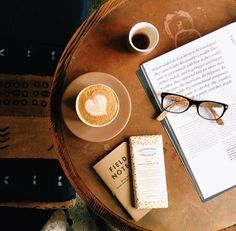 perfect match, coffee + a good book