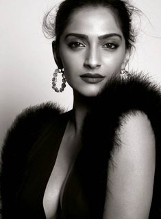 Sonam Kapoor Hot Pose For Harper's Bazaar March 2016