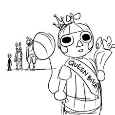 Five Nights at Freddy's balloon boy LIKE AND FOLLOW ME IF YOU THINK THIS IS FUNNY