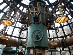 The Nautilus Gift Shop, Tokyo Disney Sea, Japan.  More cool Steampunk architecture.