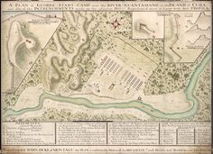 Guantanamo River in Cuba (1741)