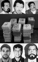"""The Cali Cartel was a drug cartel based in southern Colombia, around the city of Cali and the Valle del Cauca Department. Its founders were the Rodríguez Orejuela brothers, Gilberto and Miguel, and José Santacruz Londoño, also known as """"Chepe"""". They broke away from Pablo Escobar and his Medellin associates in the late 1980s when Hélmer Herrera, also known as """"Pacho"""", joined what became a four-man executive board that ran the cartel."""