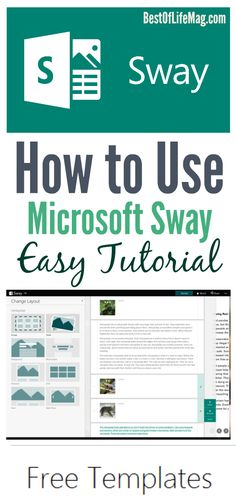 Wondering how to use Microsoft Sway?  This tech tutorial will guide you through the process.