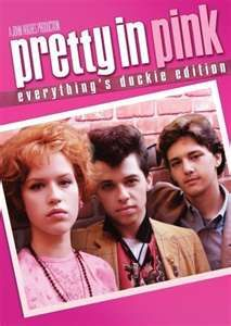 Pretty in Pink - Working-class misfit Andie thinks her dreams have come true when rich, popular Blane asks her to prom in this coming-of-age classic from John Hughes. Stars Molly Ringwald, Jon Cryer, James Spader and Andrew McCarthy. Pretty In Pink, See Movie, Movie Tv, Movie Theater, Theatre, Pink Full Movie, Movies Showing, Movies And Tv Shows, Rosa T Shirt