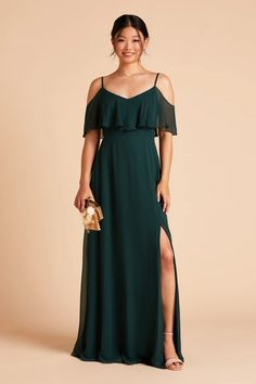 Slit Collection – Birdy Grey Emerald Green Bridesmaid Dresses, Bridesmaid Dresses Under 100, Wedding Dresses, Bridesmaids, Slit Dress, New Dress, Floor Length Gown, Convertible Dress, Cold Shoulder Dress