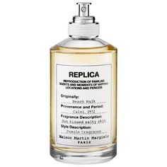 Shop MAISON MARTIN MARGIELA'S 'REPLICA' Beach Walk at Sephora. Close your eyes and let this fragrance transport you to the memory of a stroll along the ocean.