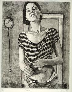 'kimberly' etching, alan brown