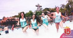 Los mejores parques de agua con tus amigas.  Sumate a la experiencia #enjoy15
