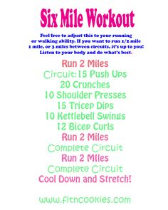 cardio workout with running, but could be walking, and strength training in between miles.Treadmill cardio workout with running, but could be walking, and strength training in between miles. Treadmill Workouts, Hiit, Fun Workouts, At Home Workouts, Cross Fit Workouts, Workout Ideas, Workout Circuit, Track Workout, Circuit Exercises