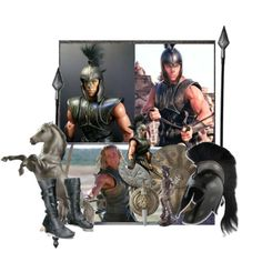 Troy is a 2004 war drama film concerning the Trojan War. It is loosely based on Homer's Iliad, and includes material from Virgil's Aeneid and other sources of the Epic Cycle. The film's actors include Brad Pitt as Achilles, Eric Bana as Hector, Orlando Bloom as Paris, Diane Kruger as Helen, Sean Bean as Odysseus, Brian Cox as Agamemnon, Rose Byrne as Briseis, Garrett Hedlund as Patroclus, Peter O'Toole as Priam, Brendan Gleeson as Menelaus, and Tyler Mane as Greater Ajax. Troy was directed…