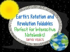Earth and Space: Earth's Rotation and Revolution (Seasons)