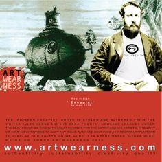 New design @Artwearness. Escapist by mao 2016. June 2016 at www.artwearness.com