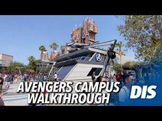 (1756) Avengers Campus Walkthrough | Disney California Adventure - YouTube Disney California Adventure Park, New Avengers, Disney Cruise Line, Disneyland Resort, Cruises, Parks, Youtube, Videos, Cruise