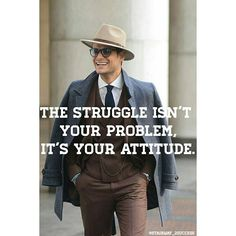 The are those finding problems and those finding solutions.  The Struggle is not your problem.It's your ATTITUDE.  Which one are you? ?/? #success #motivation #vision #focus #goals #dreams #believe #determination #motivate #inspire #inspiration #greatness #great #mindset #neverquit #entrepreneurlife #entrepreneurship #entrepreneur #solvers