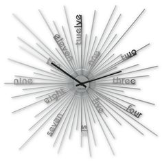Expandable Time Wall Clock