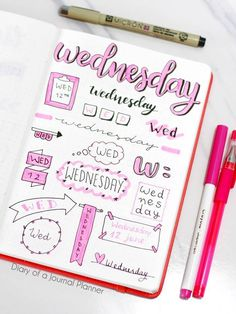 Wednesday bullet journal banners bullet journal banners headers bullet journal banners how to bullet journal banners to draw bullet journal banners step by step Bullet Journal Banners/Doodles Bullet Journal Writing, Bullet Journal Aesthetic, Bullet Journal School, Bullet Journal Ideas Pages, Bullet Journal Inspiration, Bullet Journal Headers And Banners, Tittle Ideas, Banner Drawing, Header Banner