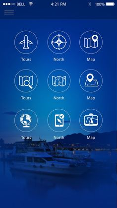 89f5217df2b Extremely Helpful Apps You Should Have When Travelling Home Screen Design  Mockup Travel App App Icon