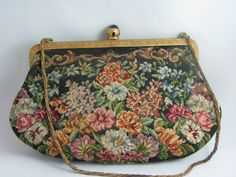 tapestry evening bag victorian