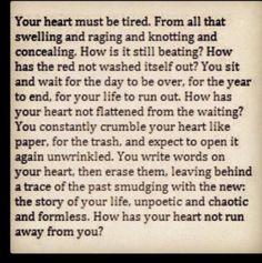 Poor heart of mine