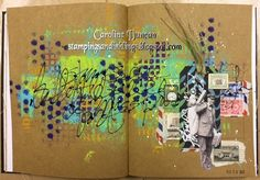 Stampings and Inklings: Art Journals Galore!