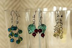 My earring experiment. Experiment, Crafts To Make, Drop Earrings, Jewelry, Bijoux, Crafting, Drop Earring, Jewlery, Jewels