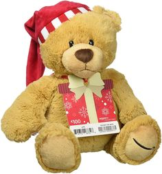 Hermoso Osito De Navidad Con Comprar DeTarjeta Regalo Amazon €100 Dale el regalo de dar