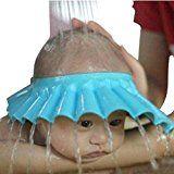 Bobonida 2pcs Soft Adjustable Shower Bathing Protect Cap Hat for Baby Children Kids Wash Hair Shield Hat