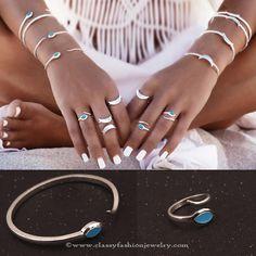 Open rings designs
