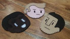 troy, abed, and jeff felties for 3 tiny tv things swap