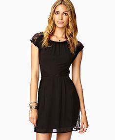 Black Dress for with Leggings