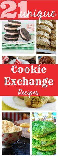 Unique holiday cookie exchange recipes SavingSaidSimply.com