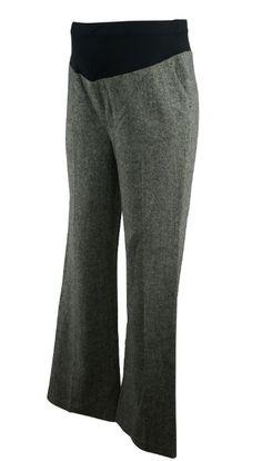 Gray Mimi Maternity Winter Career Maternity Pants (Like New - Size Small) - Motherhood Closet - Maternity Consignment