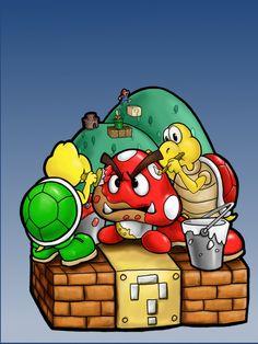 Mario Trap. Haha!