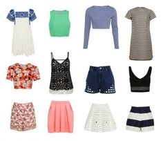 C'est le retour des basiques dans les collections printemps-été 2014 http://urbangirl-mode.fr/mode-ete-2014/