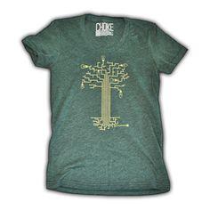 Circuitree Women's Tee now featured on Fab. [Choke Shirt Co.]
