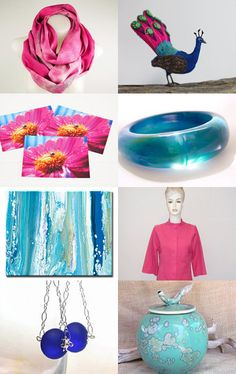 Pretty As A Peacock by Kelly on Etsy--Pinned with TreasuryPin.com