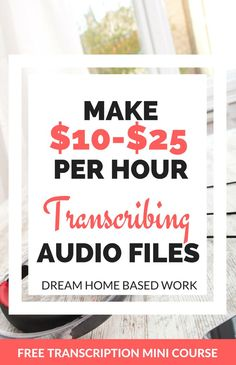 Looking for a flexible, non phone job in the transcription field? You could earn… Home Based Work, Work From Home Tips, Make Money From Home, Way To Make Money, How To Make, Making 10, Making Ideas, Camila Morrone, Legitimate Work From Home