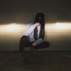 """Me attempting to be cool and hipster with my hat that says """"rebel"""" when I'm not a rebel at all..."""