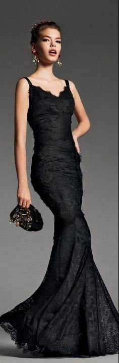 prom dress #gown #fashion #black #gown #redcarpet