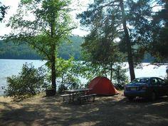 Algonquin Provincial Park - Zelten am See