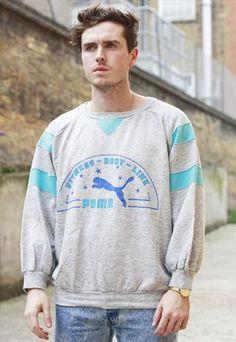 Vintage 90s Puma Sweatshirt £28.00