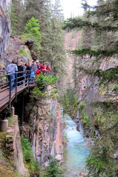 Johnston Canyon - Banff National Park - Alberta, Canada